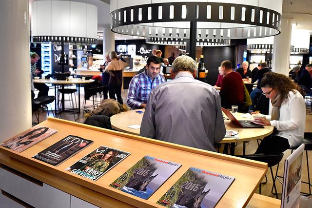 SAS Lounge, Copenhagen Airport