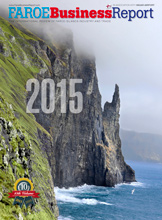 Faroe Business Report 2015 front cover