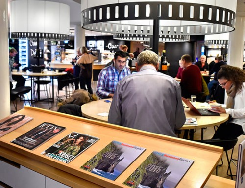 Faroe Business Report received with enthusiasm at airport lounges